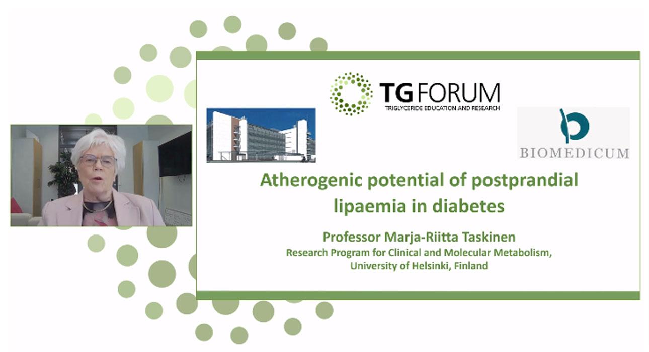 Prof Marja-Riitta Taskinen's Presentation
